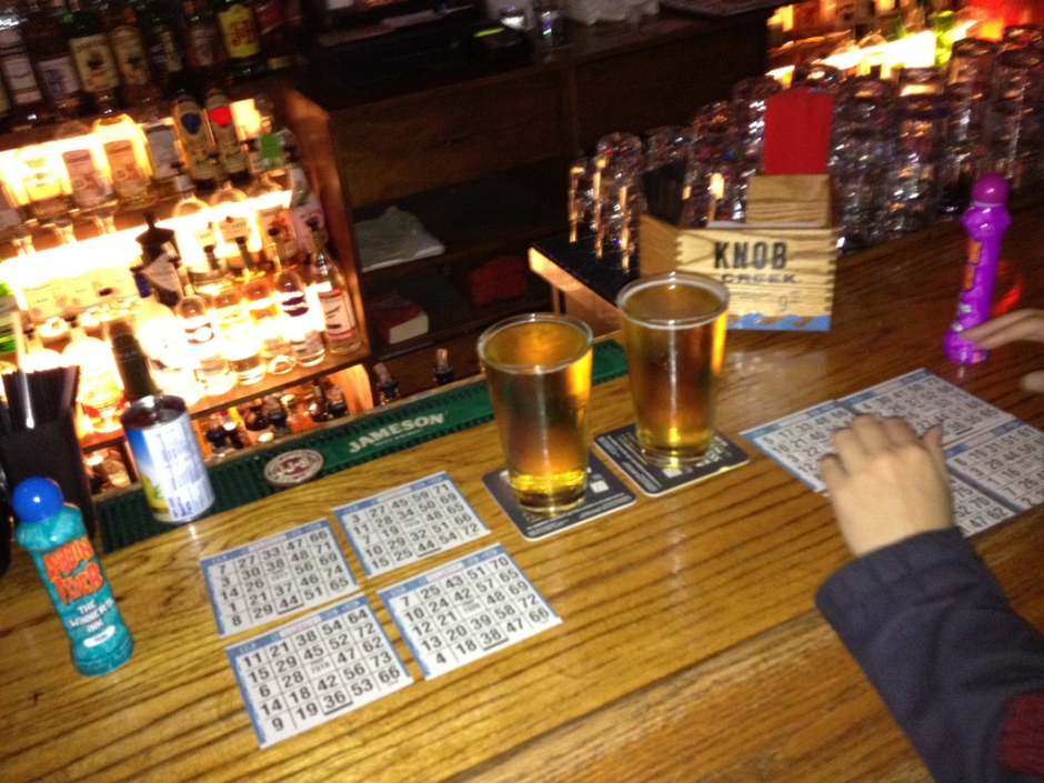 bingo at a bar picture