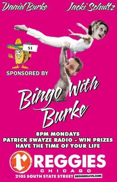 bingo with burke flyer